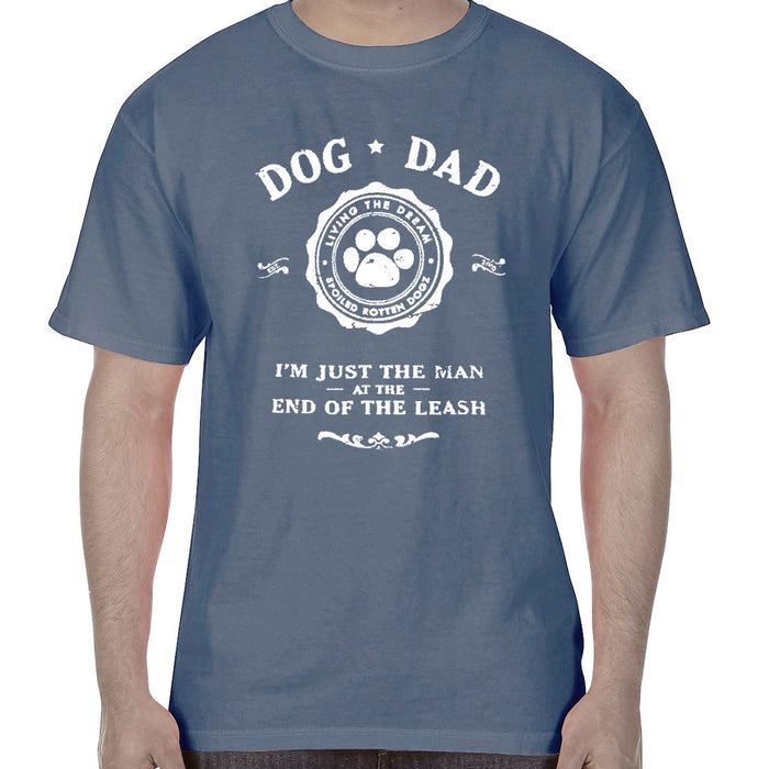 Spoiled Rotten Dogz Shirt Tee Dog Dad Blue
