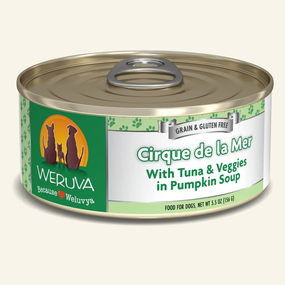 Weruva Dog Can Cirque De La Mer 5.5oz