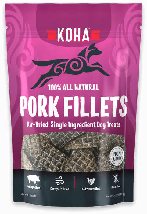 KOHA Pork Fillets 4oz