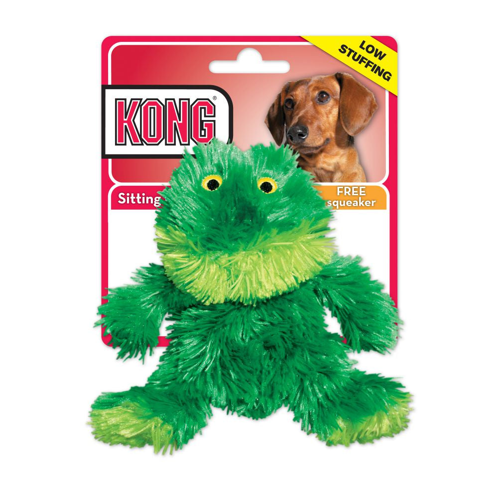 Kong Plush Mini Frog Dog XS