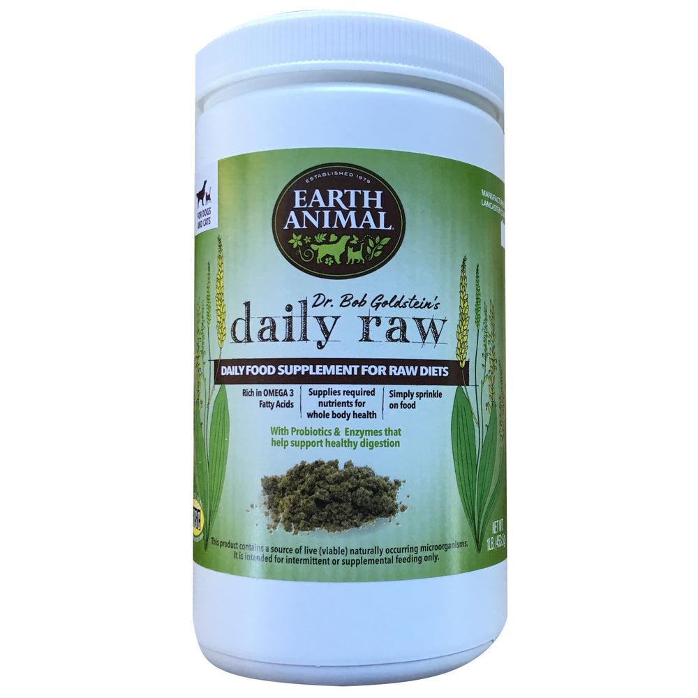 Earth Animal Daily Raw Supplement 1lb