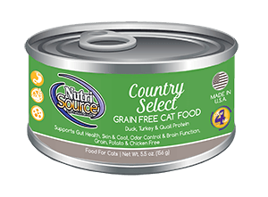 NutriSource Cat GF Country Select 5.5z