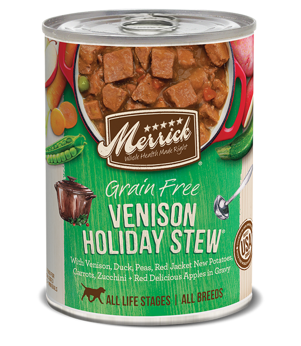 Merrick GF Venison Holiday 12.7oz