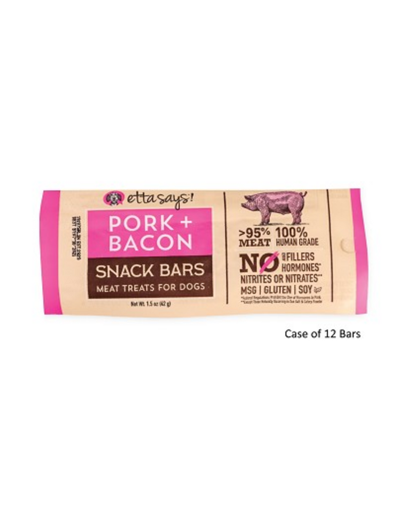 Etta Says Meat Snack Bar Pork And Bacon 1.5oz