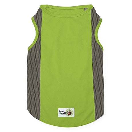 Insect Shield Mesh Tank Green MD