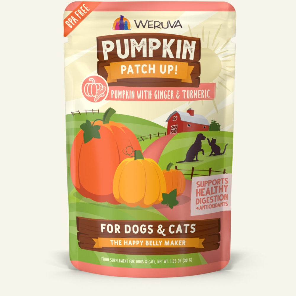 Weruva Pumpkin with Ginger and Tumeric Pouch