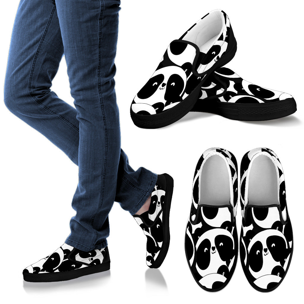 Men's Slip On Panda Shoe's
