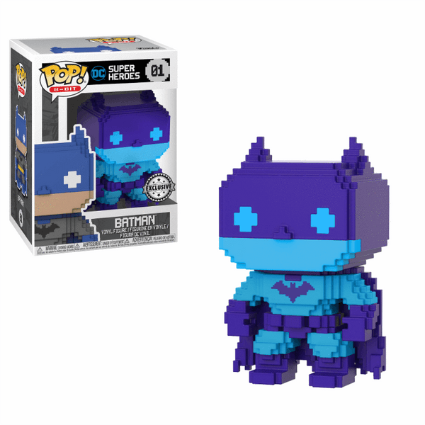 8-Bit Batman (Purple) DC Exclusive Funko Pop! Vinyl-The Nerdy Byrd