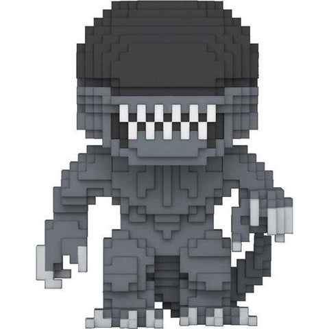 8-Bit Xenomorph Alien Funko Pop! Vinyl-The Nerdy Byrd