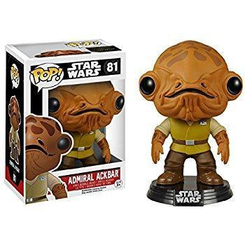 Admiral Ackbar Star Wars Funko Pop! Vinyl-The Nerdy Byrd