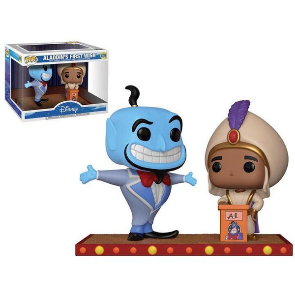 Aladdins First Wish Movie Moment Funko Pop! Vinyl-The Nerdy Byrd