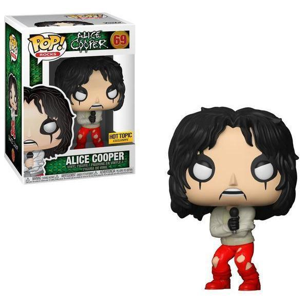 Alice Cooper Straightjacket Hot Topic Exclusive Funko Pop! Vinyl-The Nerdy Byrd
