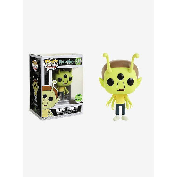 Alien Morty Rick and Morty ECCC 2018 Exclusive Funko Pop! Vinyl-The Nerdy Byrd