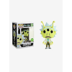 Alien Rick Rick and Morty ECCC 2018 Exclusive Funko Pop! Vinyl-The Nerdy Byrd