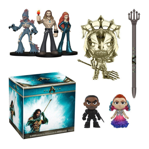 Aquaman DC Target Exclusive Collectors Box-The Nerdy Byrd