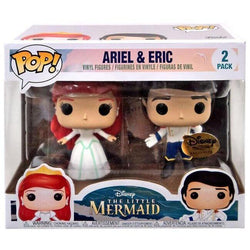 Ariel & Eric Little Mermaid Disney Treasures Exclusive Funko Pop! Vinyl-The Nerdy Byrd