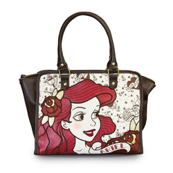 Ariel (The Little Mermaid) True Love Loungefly Tote Bag-The Nerdy Byrd
