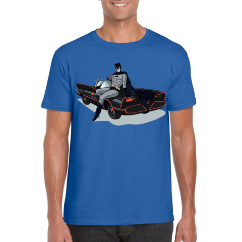 Batman Pin-Up T-Shirt-The Nerdy Byrd