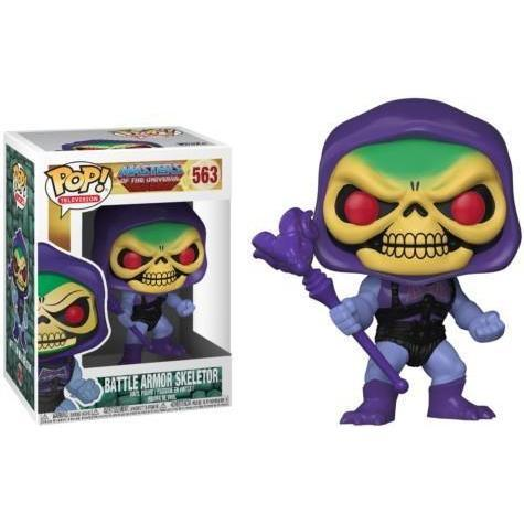 Battle Armor Skeletor Masters of the Universe Funki Pop! Vinyl-The Nerdy Byrd