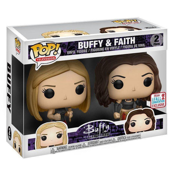Buffy & Faith Buffy the Vampire Slayer NYCC Exclusive Funko Pop! Vinyl-The Nerdy Byrd
