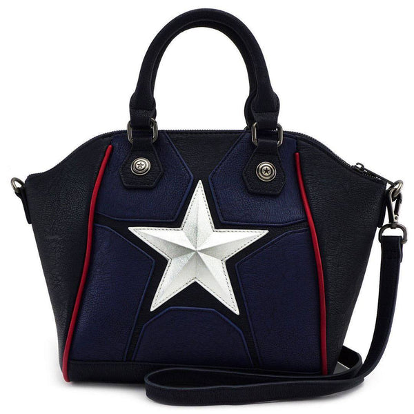 Captain America Crossbody Loungefly Cosplay Bag-The Nerdy Byrd