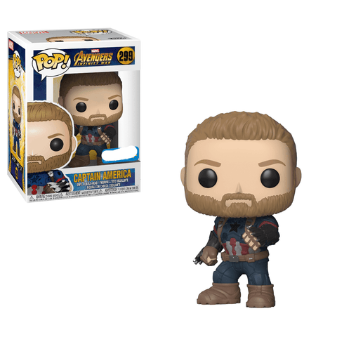Captain America Infinity War Exclusive Funko Pop! Vinyl-The Nerdy Byrd