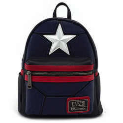 Captain America Marvel Cosplay Loungefly Backpack-The Nerdy Byrd