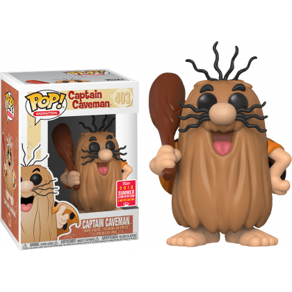 Captain Caveman Hanna Barbera SDCC 2018 Exclusive Funko Pop! Vinyl-The Nerdy Byrd