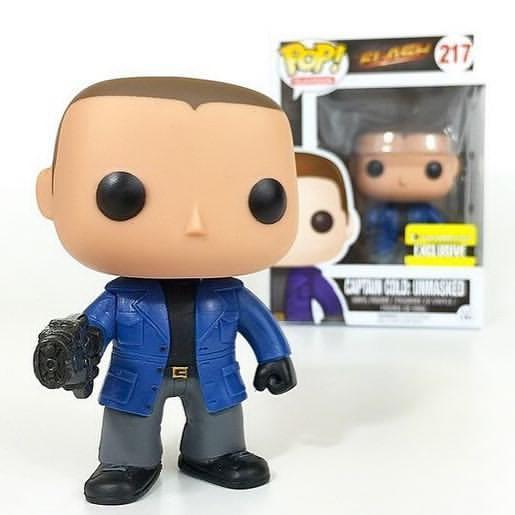 Captain Cold Unmasked EE The Flash Exclusive Funko Pop! Vinyl-The Nerdy Byrd