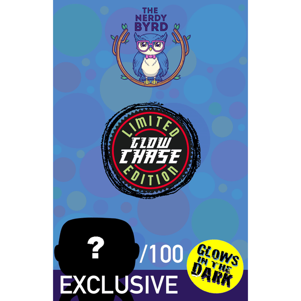 Chase GitD Nerdy Byrd Limited Exclusive Enamel Pin-The Nerdy Byrd