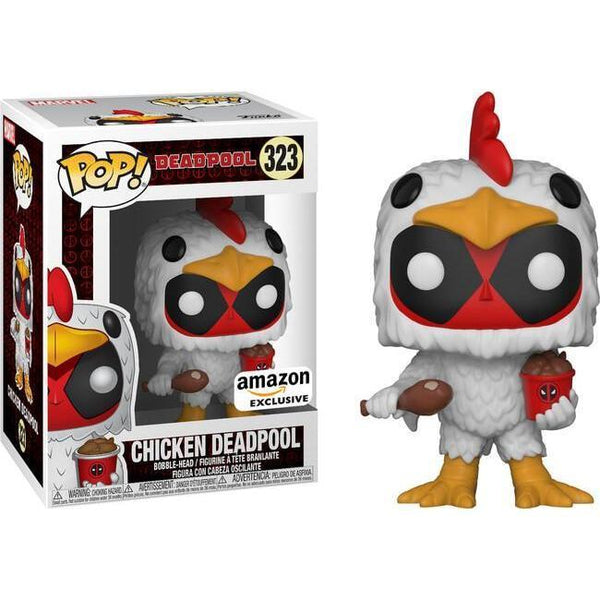 Chicken Deadpool Amazon Exclusive Funko Pop! Vinyl-The Nerdy Byrd