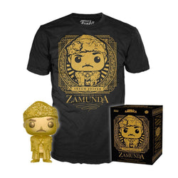 Coming To America Akeem Collectors Funko Pop! & Tee Box-The Nerdy Byrd