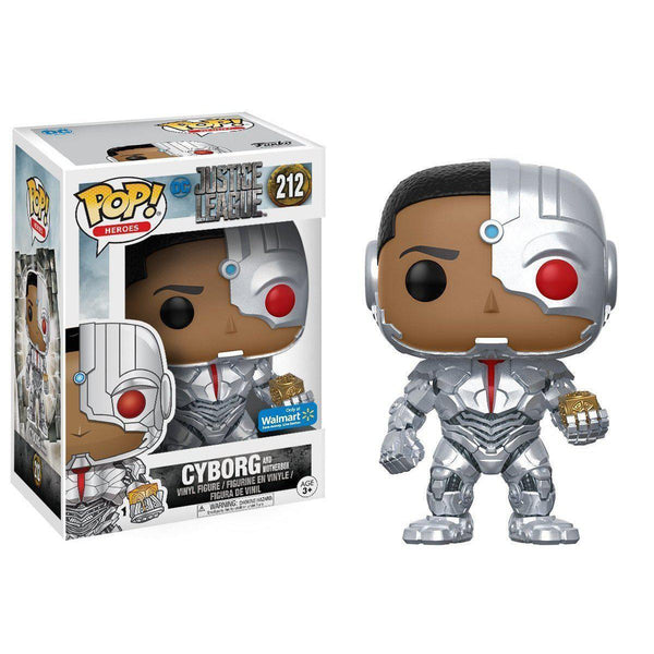 Cyborg with Mother Box Walmart Exclusive Funko Pop! Vinyl-The Nerdy Byrd