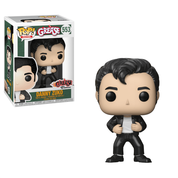 Danny Zuko Grease Funko Pop! Vinyl-The Nerdy Byrd