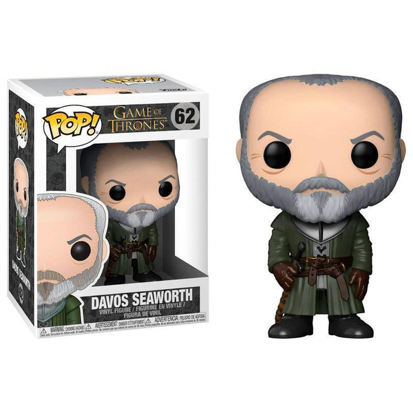 Davos Seaworth Game of Thrones Funko Pop! Vinyl-The Nerdy Byrd