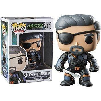 Deathstroke Unmasked The Arrow UT Exclusive Funko Pop!-The Nerdy Byrd