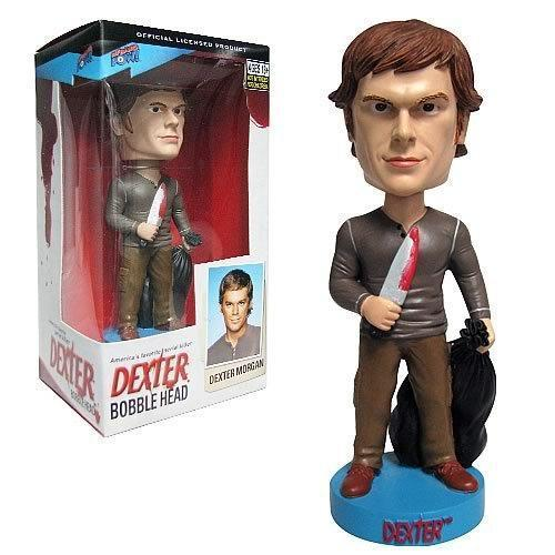 Dexter Bobble-Head (Kill Outfit)-The Nerdy Byrd