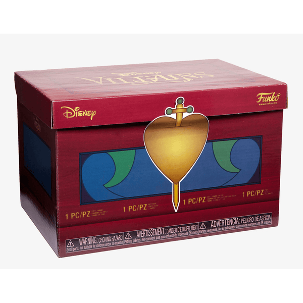 [RESTOCK SOON] Disney Treasures Villains Hot Topic Funko Box-The Nerdy Byrd
