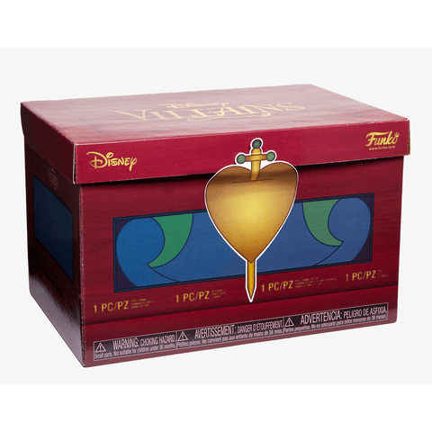 Disney Treasures Villains Hot Topic Funko Box-The Nerdy Byrd