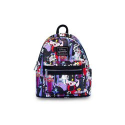 Disney Villains AOP Loungefly Backpack-The Nerdy Byrd