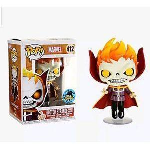 Doctor Strange Ghost Rider LCC Exclusive Funko Pop! Vinyl-The Nerdy Byrd