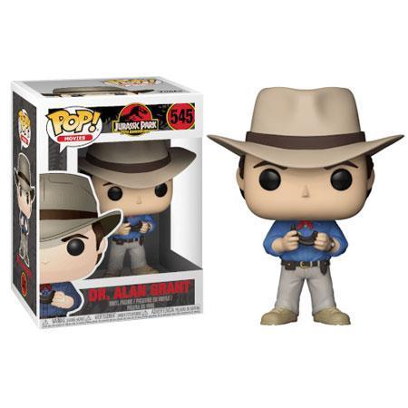 Dr. Alan Grant Jurassic Park Funko Pop! Vinyl-The Nerdy Byrd
