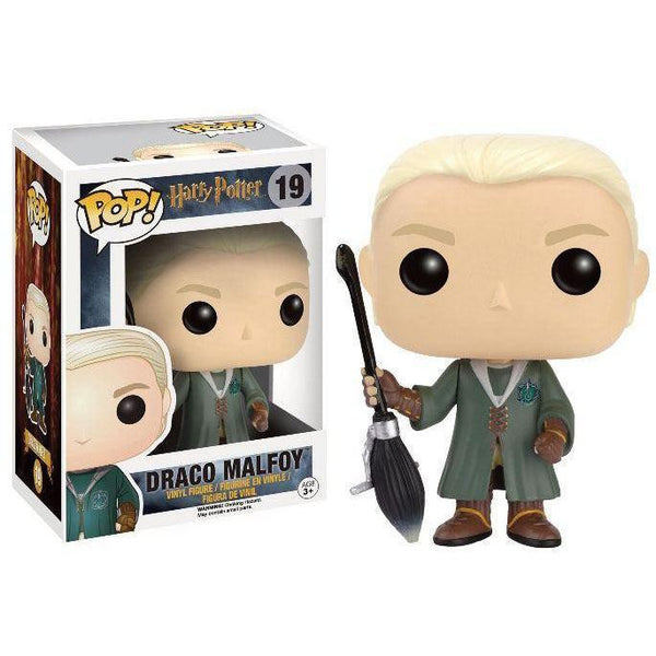 Draco Malfoy Quidditch Harry Potter Exclusive Funko Pop! Vinyl-The Nerdy Byrd