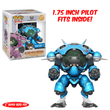 D.Va & Meka (Blueberry) Walmart Exclusive Funko Pop! Vinyl-The Nerdy Byrd
