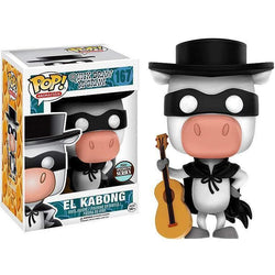 El Kabong Speciality Series Hanna Barbera Funko Pop! Vinyl Exclusive-The Nerdy Byrd