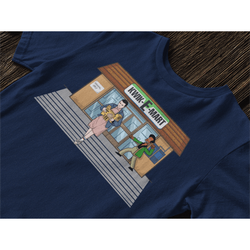 Eleven / Kwik-E-Mart T-Shirt-The Nerdy Byrd