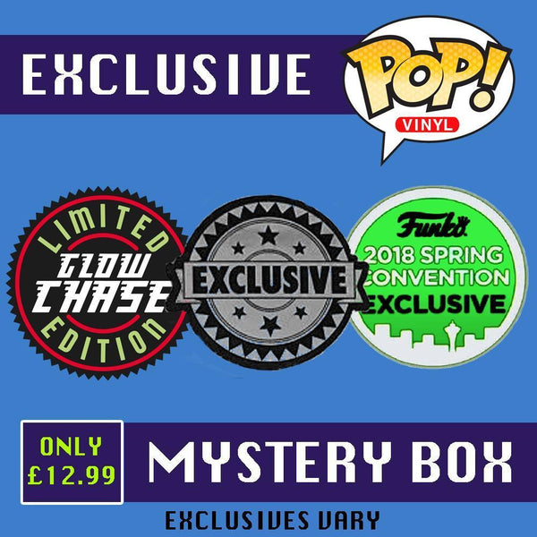 Exclusive Funko Pop! Vinyl Mystery Box-The Nerdy Byrd