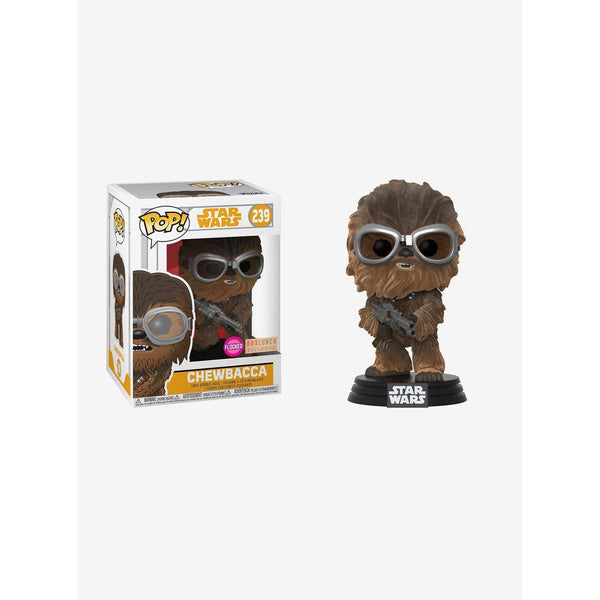 Flocked Chewbacca Solo Star Wars BoxLunch Exclusive Funko Pop! Vinyl-The Nerdy Byrd