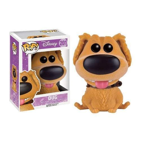 Flocked Dug UP! Exclusive Funko Pop! Vinyl-The Nerdy Byrd