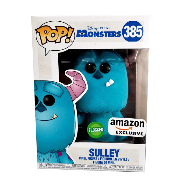 Flocked Sulley Monsters Inc Amazon Exclusive Funko Pop! Vinyl-The Nerdy Byrd
